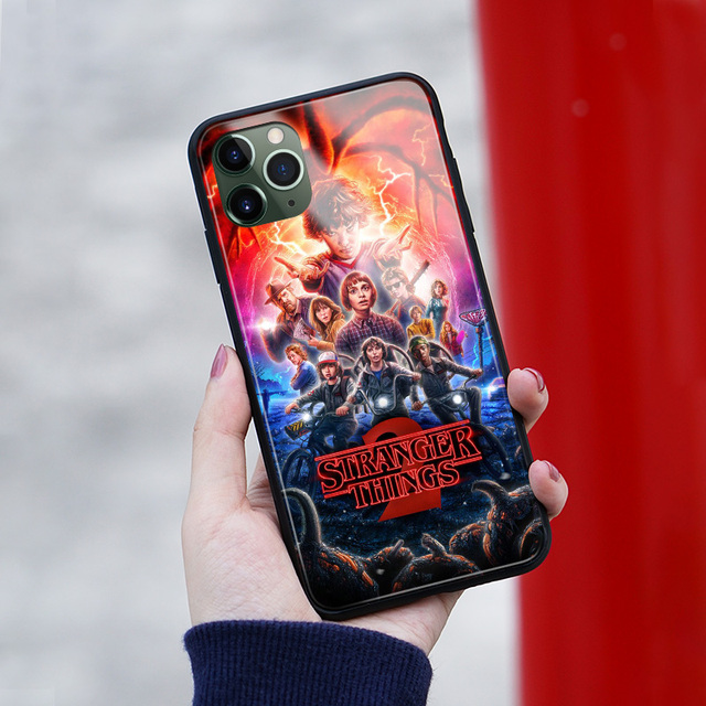 STRANGER THINGS THEMED IPHONE CASE (7 VARIAN)