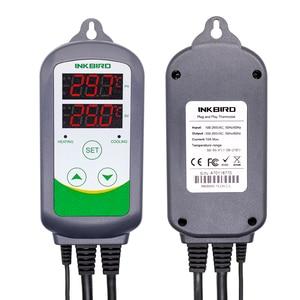 Image 2 - Inkbird ITC 308 & 308WIFI EU Plug Digital Temperature Controller Thermostat Regulator Dual Relays Heating & Cooling Homebrewing