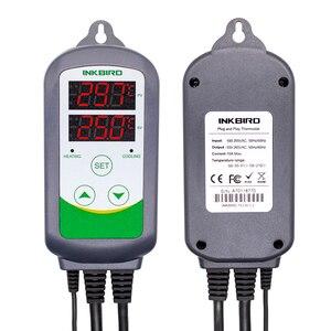Image 2 - Inkbird controlador de temperatura Digital para el hogar controlador de temperatura Digital con enchufe europeo, WIFI, ITC 308 y 308, con relés duales, calefacción y refrigeración