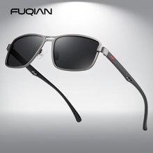 Fuqian Роскошные поляризованные солнцезащитные очки для мужчин