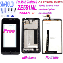 STARDE LCD for Asus Zenfone 2 ZE551ML Z00AD LCD Display Touch Screen Digitizer Assembly with Frame Free Tools Glass Included цена в Москве и Питере