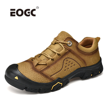 High Quality Men Shoes Natural Leather Casual Shoes Waterproof  Plus Size Breathable Outdoor Flats Shoes Men Zapatos Hombre стоимость