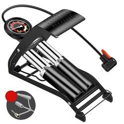 Воздушный насос Калибр для точного измерения, Одноцилиндровый Насос с высоким давлением для велосипеда, скутера, мотоцикла, надувной возду...