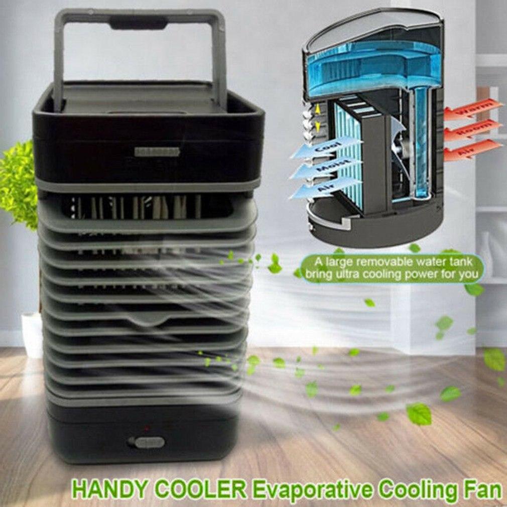 Удобный охладитель, домашний Кондиционер, вентилятор, Холодильный вентилятор, офисный мини охладитель, низкое энергопотребление Вентиляторы      АлиЭкспресс