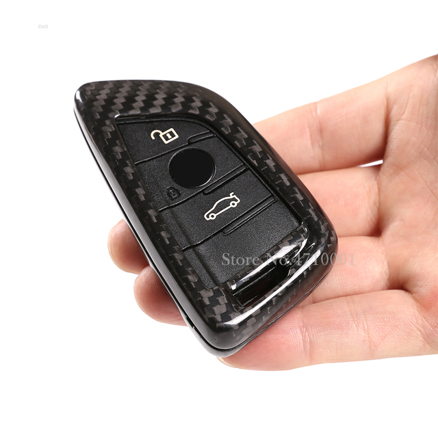 Car Key Shell Modification Cover,Real Carbon Fiber,Key Case,for BMW 3 5 Series X1X2X3X4X5X6 G20 G30 G31 F48 F39 G01 G02 G05 F16