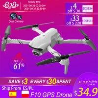2021 nuovo F10 Drone 4K HD Dual Camera Band GPS 5G WIFI FPV Drones pieghevole Quadcopter professione Dron RC elicottero giocattolo ragazzo regalo