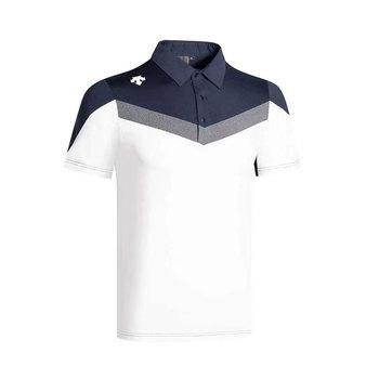 2020 nowy lato DESCENTE ubrania do gry w golfa męskie T-Shirt do golfa wygodne oddychające Golf koszulka z krótkim rękawem darmowa wysyłka tanie i dobre opinie Poliester Akrylowe Anty-pilling Anti-shrink Przeciwzmarszczkowy Szybkie suche Koszule Pasuje prawda na wymiar weź swój normalny rozmiar