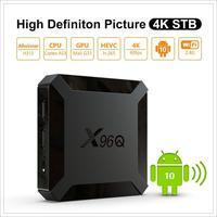 X96Q Smart Tv Box Android 10.0 Set-Top Box convertitore TV digitale 4K Media player 2GB 16GB supporto DLNA/Wireless/TF r20