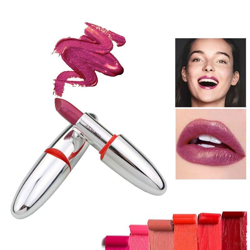14 Color Waterproof Velvet Lip Stick Shimmer Nude Brown Makeup Matt Long Lasting Lipsticks Matte Lipstick Lips Make Up Beauty
