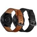 Ремешок для часов samsung galaxy watch из натуральной кожи  42 мм  46 мм  ремешок 20 мм  22 мм  ремешок для часов gear s3 s2  классический