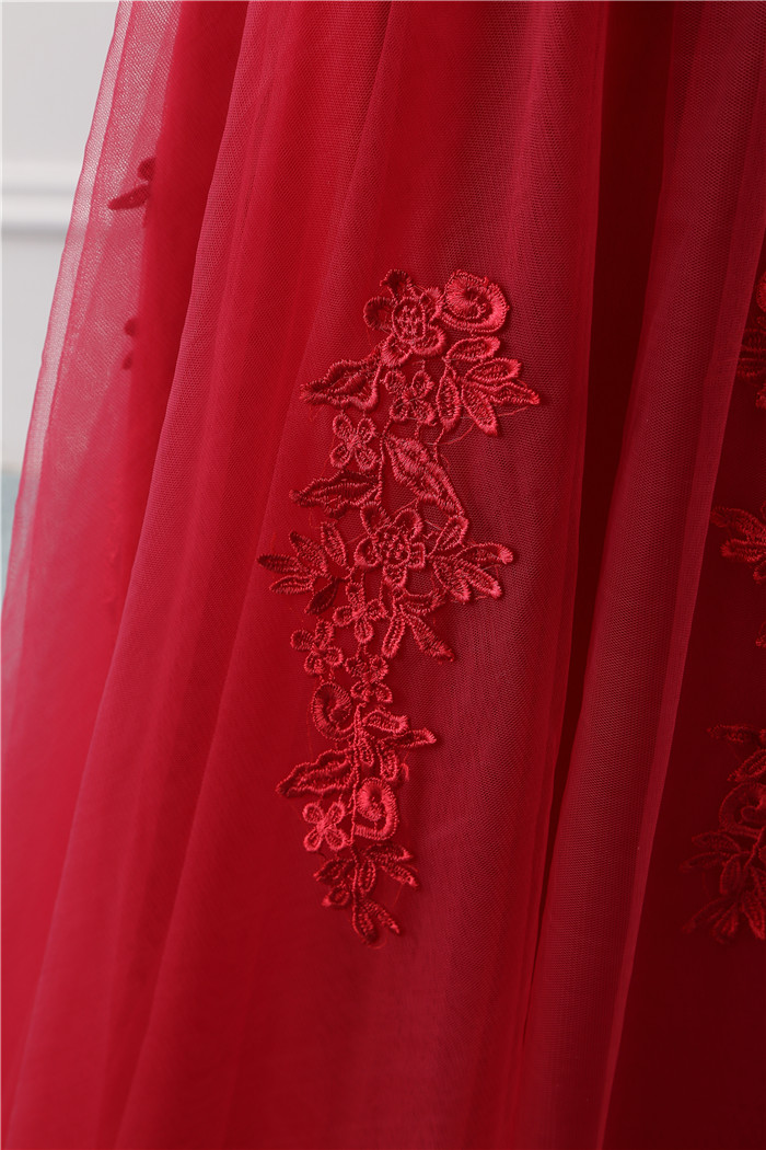 Beauty Emily Robe De Soiree Lace Sexy Backless Long Evening Dresses 2019 Bride Banquet Elegant Floor-length Party Prom Dress