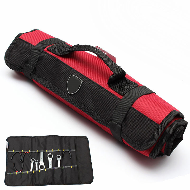 Tool Bag Shoulder Bag Handbag Tool Plier Screwdriver Pocket Roll Bag / Case / Pouch 22 Pockets Holder Bag