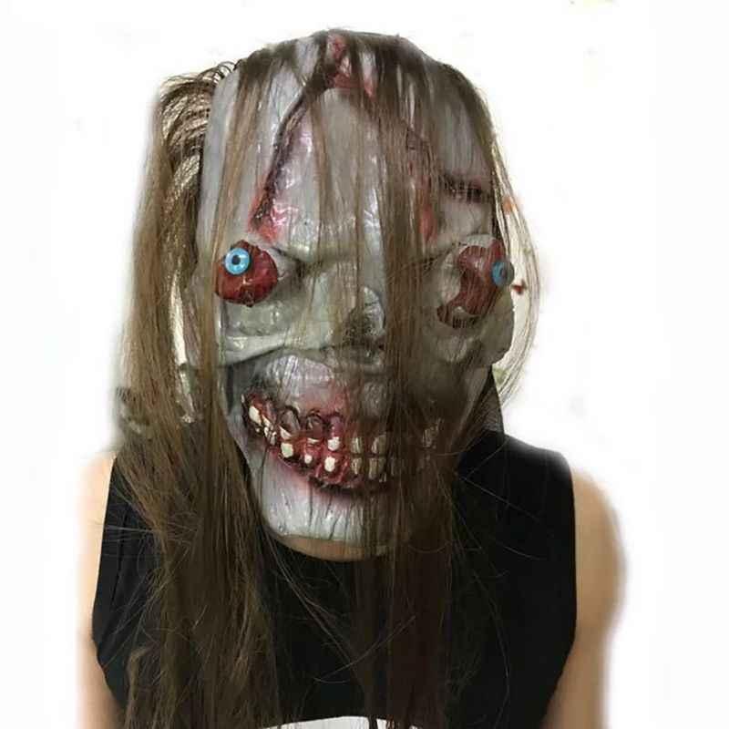 Halloween gałki oczne spadek maska Horror na bal maskowy nawiedzony dom rekwizyty dekoracji strona dekoracji