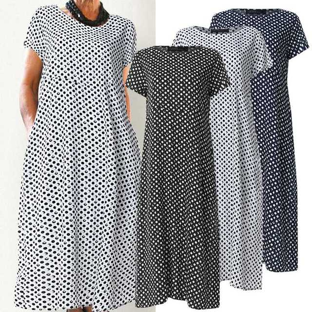 classic  dress, comfortable and has pockets, day dress 2