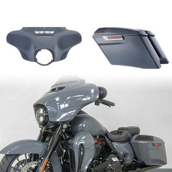 Motorcycle CVO Saddlebags & Outer Fairing For Harley Touring Street Electra Glide Ultra Classic 2014-2020 2019 2018