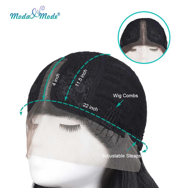 """Moda & mode peruca 28 """"peruca rosa onda profunda peruca dianteira do laço sintético ombre loira peruca de renda parte do meio para mulher"""