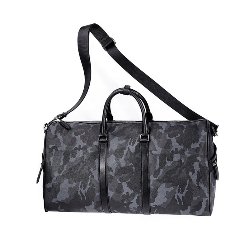 Presale VLLICON 35L Outdoor Travel Leather Bag Camouflage Large Capacity Sports Gym Fitness Handbag Shoulder Bag in Travel Bags from Luggage Bags