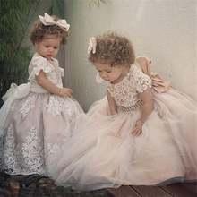 Новинка; Модные платья в цветочек для девочек свадьбы; ТРАПЕЦИЕВИДНОЕ