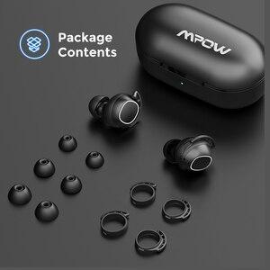 Image 5 - Mpow M30 kablosuz kulaklık TWS Bluetooth 5.0 kulaklık dokunmatik kontrol kulakiçi ile IPX8 iPhone iPhone için su geçirmez Xiaomi Mi 10 Pro
