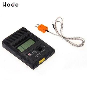 цена на TM-902C (-50C to 1300C) Temperature Meter TM902C Digital K Type Thermometer Sensor + Thermocouple Probe detector