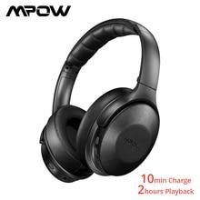 Mpow h17 fones de ouvido sem fio bluetooth 4.1 anc fone com carregamento rápido hi fi som estéreo para iphoen xiaomi huawei smartphones