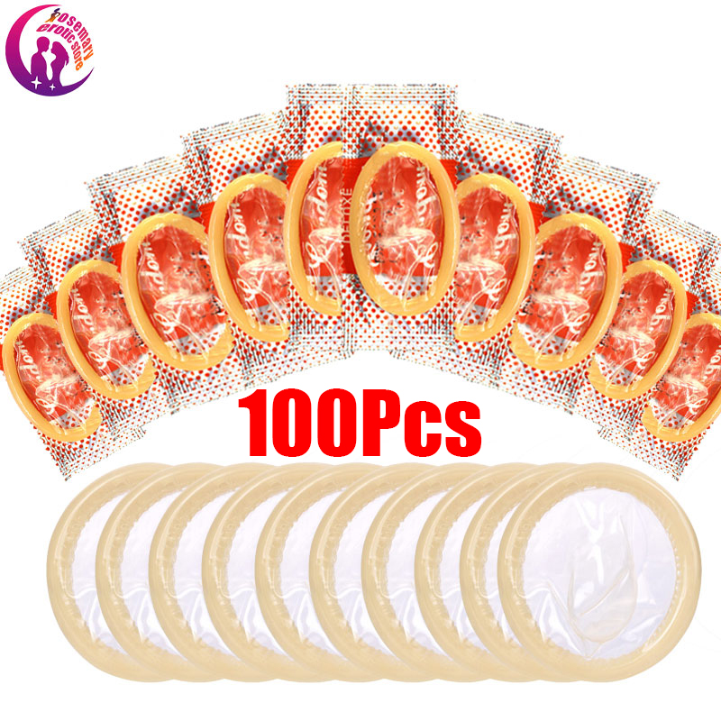 Wholesale Condoms 100pcs Hot Sex Products, Best Quality Condoms With Full Oil, Condom Safe Contraception Random Color