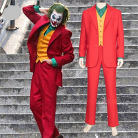 2019 Movie The Joker Cosplay Costume Halloween Costumes for Men Batman Dark Knight Cosplay Costume Joker Jacknapier Ericborder