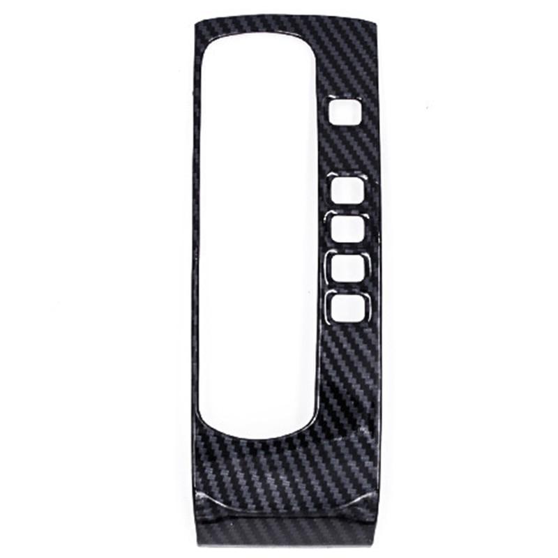Carbon Fiber Gear Shift Box Panel Cover Trim For Right Hand Drive Honda Civic 10Th 2016-2018 Car Decoration
