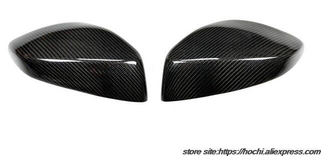 Funda de espejo retrovisor de fibra de carbono 100% estilo añadido completo para Toyota GT 86 GT86 de alta calidad