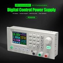 Voltmètre convertisseur de tension, Module d'alimentation WIFI USB, RD6006/RD6006W, 60V 5A
