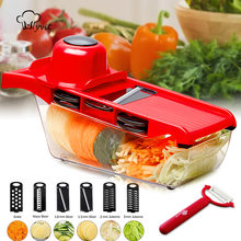 Slicer vegetal multi cortador ralador para legumes mandoline descascador cenoura frutas corte acessórios da cozinha cortador de legumes