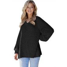 Autumn Winter Short Sweater Women Pullovers Casual Soft Jumper Fashion Long Slee