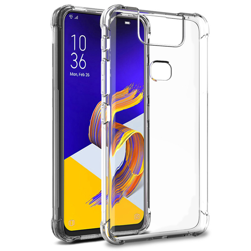 TPU Case For ASUS Zenfone 6 ZS630KL Case Soft Clear Shockproof Back Cover For Zenfone 6 Case ZS630KL 2019