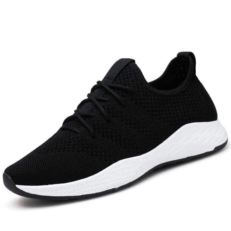 2019 Los Zapatos Casuales Mas Baratos Para Hombre Zapatillas Nuevas Zapatillas De Correr Para Hombre Zapatos De Tejido De Malla Ligeras Tallas Grandes Para Hombre 38 46 Calzado Vulcanizado De Hombre Aliexpress