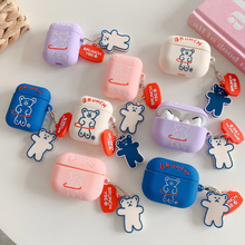 For Airpods 1 2 3 Case Silicone Cartoon Cover For Airpods pro Case Cute Earphone 3D Headphone case F