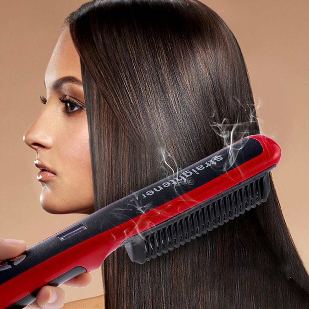 cabelo hd cerâmica alisamento splint franja fivela