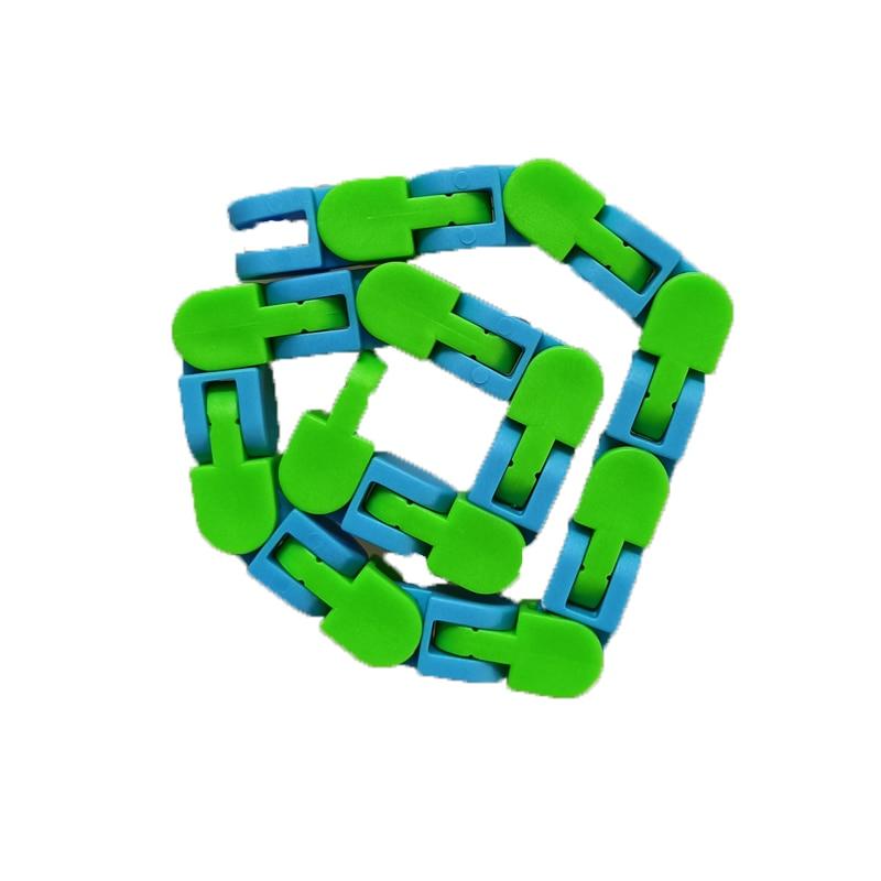 Toy Bracelet Fidget Spinner Chain Educatiaonal-Toys Reliever Adult Children for Kids img4
