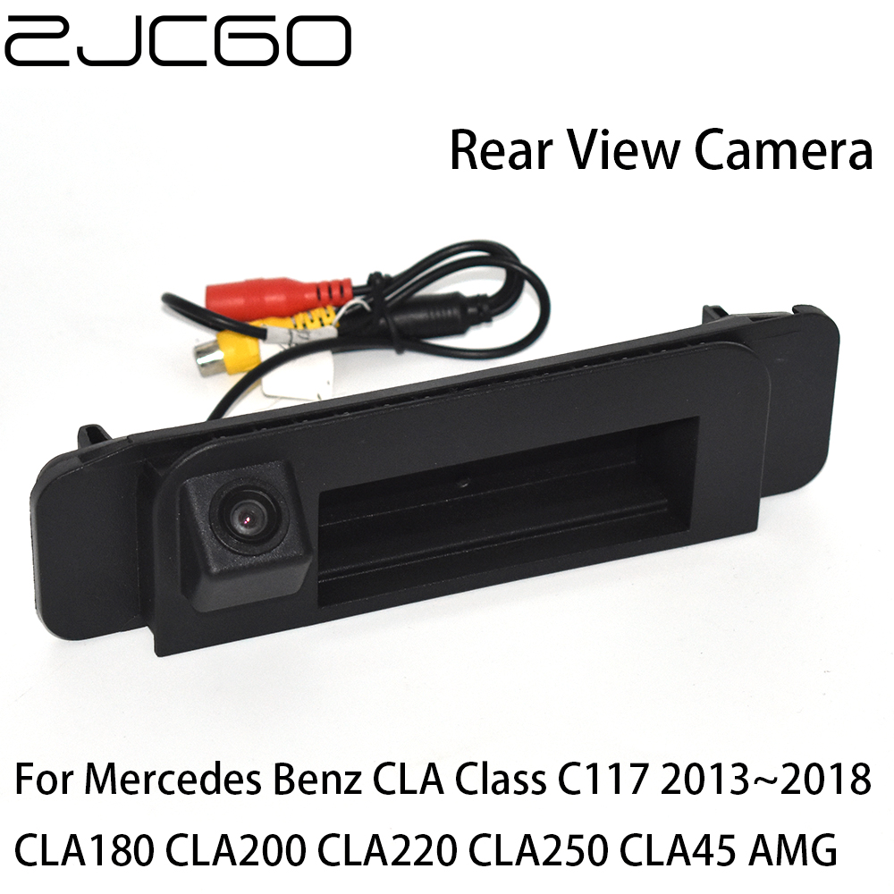 ZJCGO, vista trasera de coche, cámara de marcha atrás para estacionamiento para asa de maletero para Mercedes Benz CLA clase MB C117 CLA180 CLA200 CLA220 clav250 Procesador Intel Core™ i3-8100 3,6 Ghz 6 MB LGA 1151 BOX