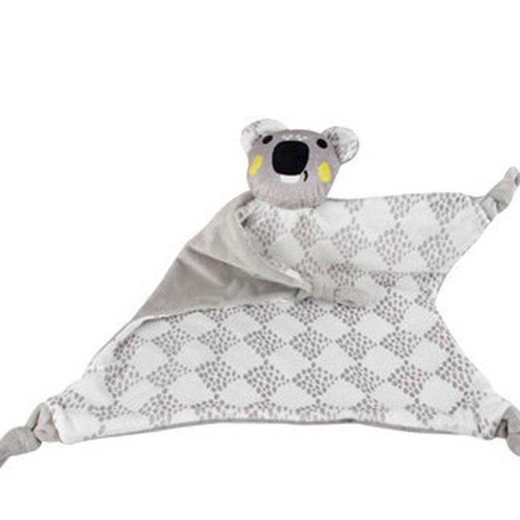 Newborn Infant Soft Reassure Towel Bibs Animals Bull Sheep Monkey Appease Towel Plush Mobiles Crib Baby Grasping Toys For Kids