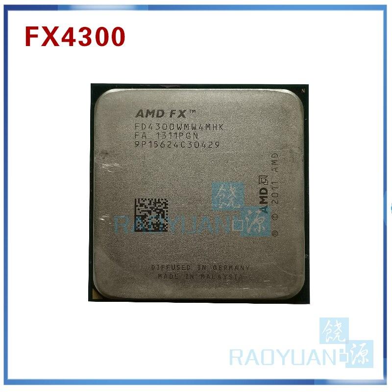 Amd Fx Series Fx4300 3 8ghz Quad Core Cpu Processor Fx 4300 Fd4300wmw4mhk 95w Socket Am3 Fx 4300 Amd Fxprocessor Fx Aliexpress
