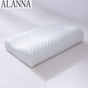Alanna 01, almohada de cama de espuma con memoria, protección del cuello, almohada de maternidad con forma de rebote lento para dormir, almohadas ortopédicas de 50*30CM