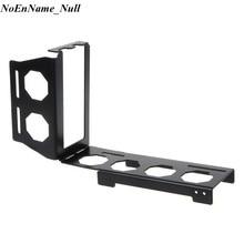 Diy metal suporte da placa gráfica riser fixo vertical atx caso pci e 16x x16 suportes internos suporte stent