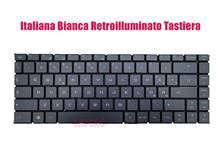 Italiana bianca retroilluminato tastiera por msi ps63 moderno 8rc (MS-16S1)/ps63 moderno 8sc (MS-16S2)