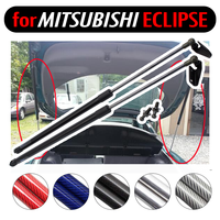 for Mitsubishi Eclipse 1995 -1999 carbon fiber Lift Supports Shock Gas Struts Spring 33.66 inch Tailgate Rear Trunk Boot Damper