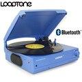 LoopTone Ленточный привод 33/45/78 об/мин Bluetooth Виниловая пластинка проигрыватель со встроенным динаминаушники Jack & RCA линейный выход