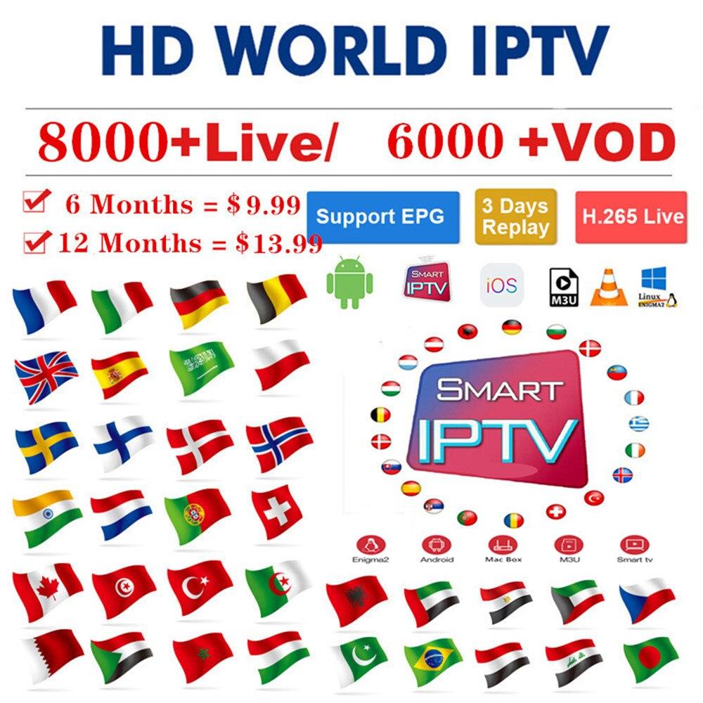 IPTV Xxx Channels TV Box Europe Sweden Arabic French Italy USA Swiss Iptv Subscription Spanish Adult Iptv M3u Smart TV Mag250 Tv