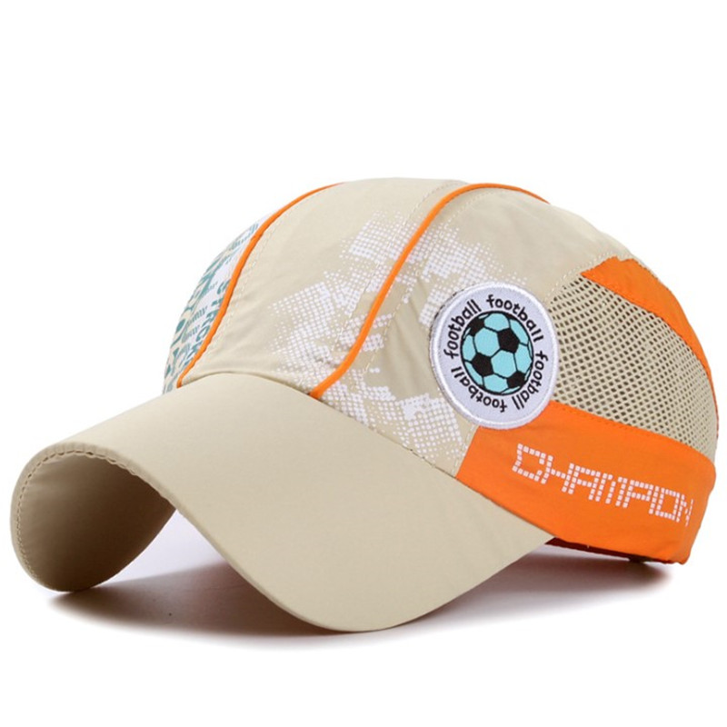 Cartoon Icon Children's Breathable Baseball Caps Boys Girls Children Mesh Cap Summer Adjustable Student Sporty Hats Snapack Cap