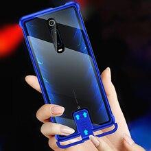 OMEVE чехол для Xiaomi Mi 9T безрамный металлический бампер и закаленное стекло задняя крышка для Xiaomi 9T Pro/ Redmi K20 K20 Pro Чехол для телефона