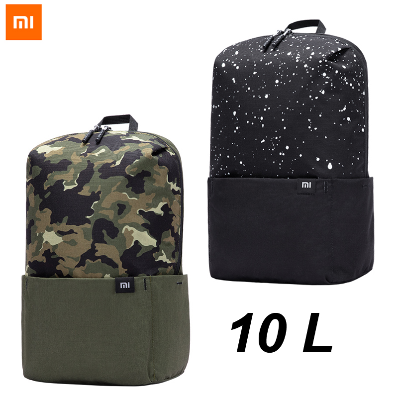 Splashed Ink Multifunctional Bundle Backpack Shoulder Bag For Men And Women
