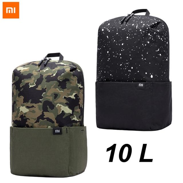 2020 ใหม่กระเป๋าเป้สะพายหลัง Xiaomi 10L กระเป๋า Mi กระเป๋าเป้สะพายหลัง Urban Leisure กีฬากระเป๋าผู้ชายผู้หญิงขนาดเล็กไหล่ Unise